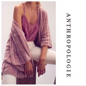 Anthropologie Chenille Cardigan
